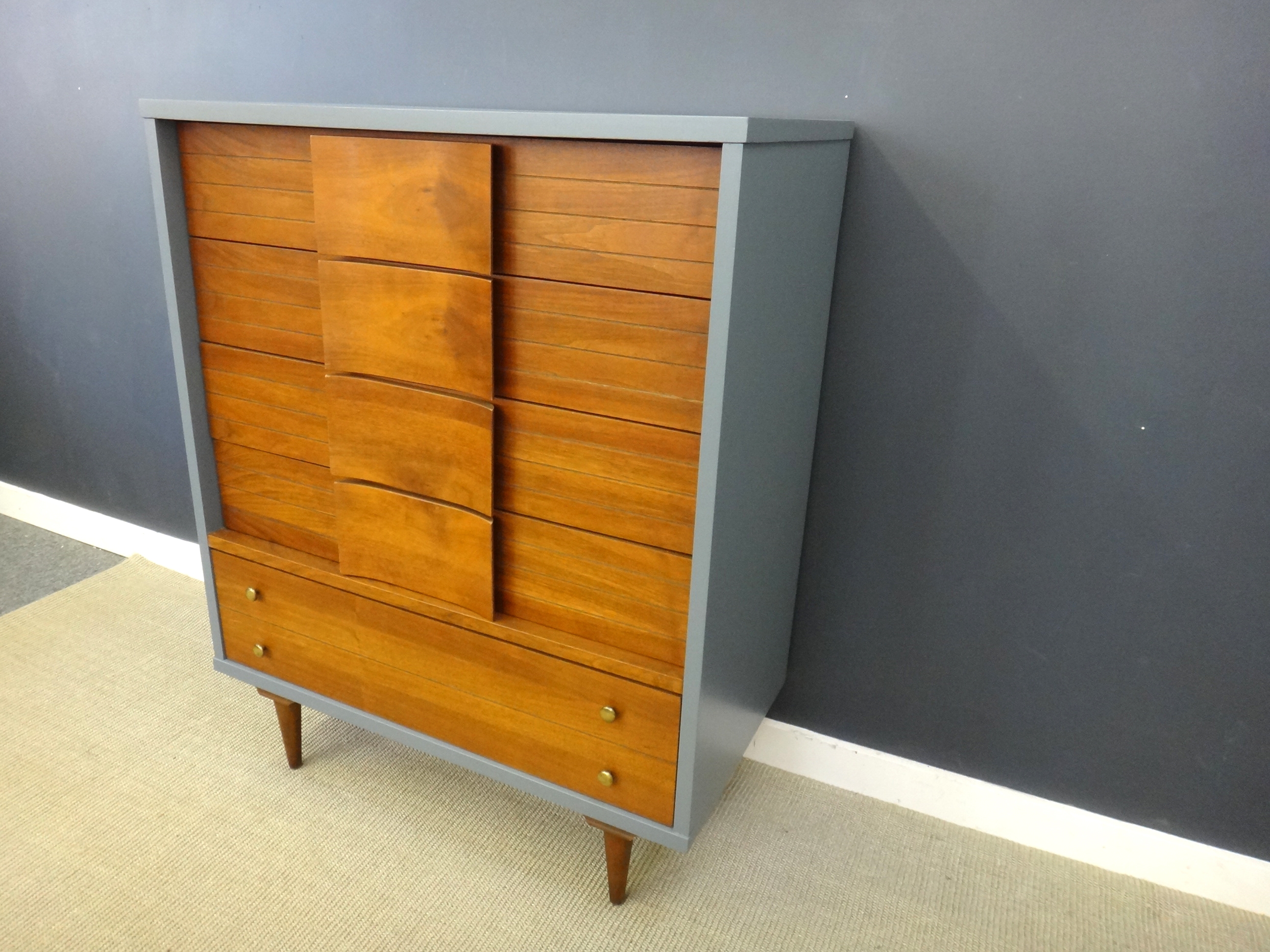 Mid Century Johnson Carper Dresser