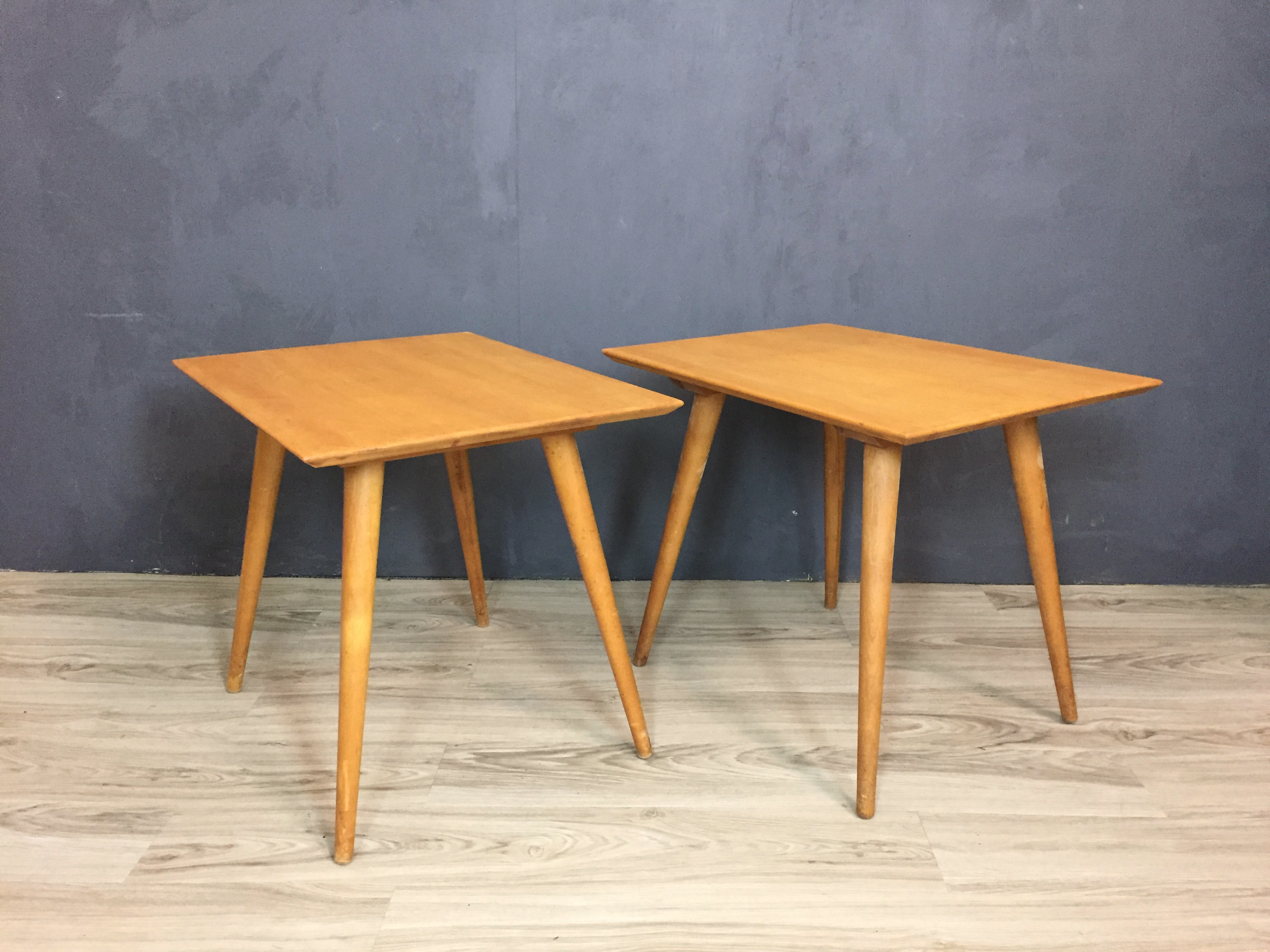 Paul McCobb Maple Side Tables