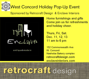 West Concord Holiday PopUp Event