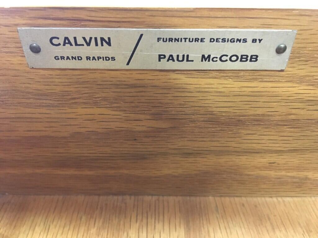 Paul McCobb for Calvin Walnut Dresser