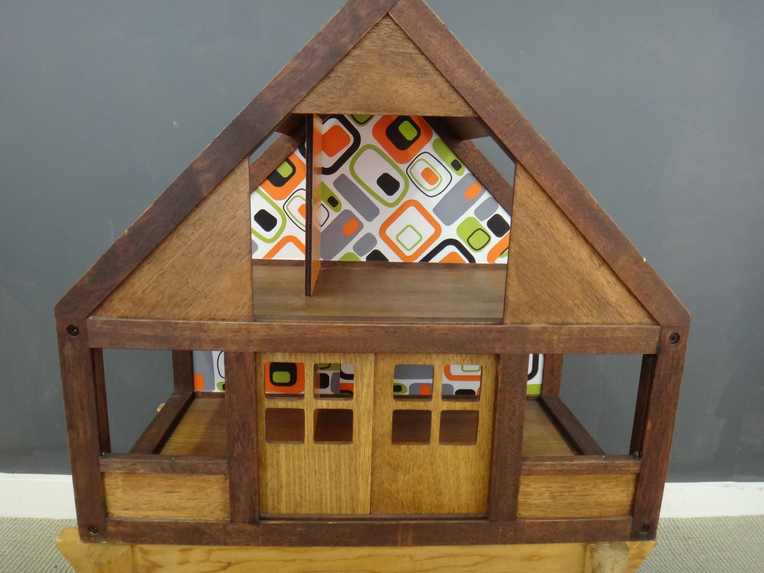 Danish Modern Doll House
