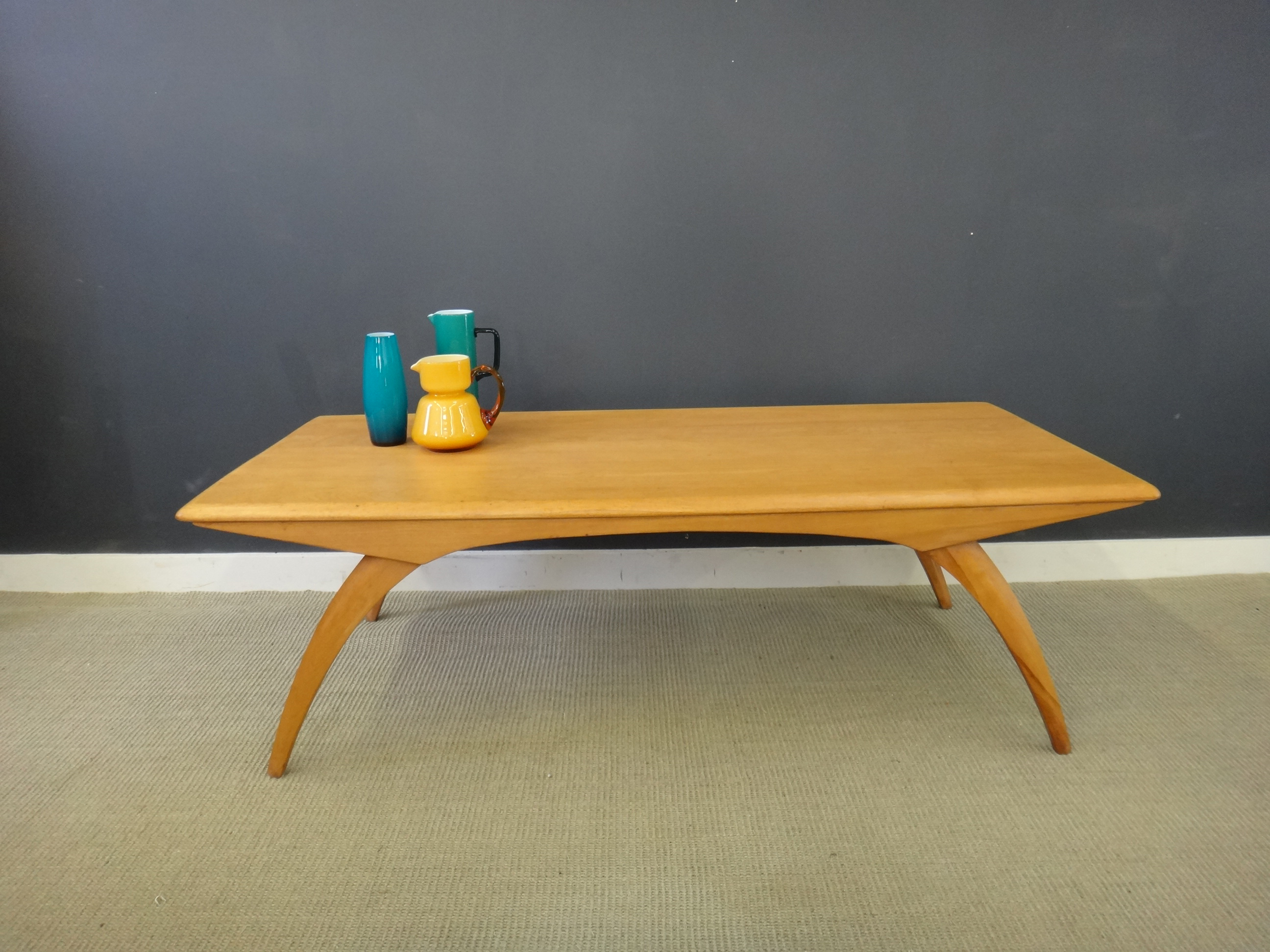 Heywood Wakefield Maple Coffee Table Retrocraft Design