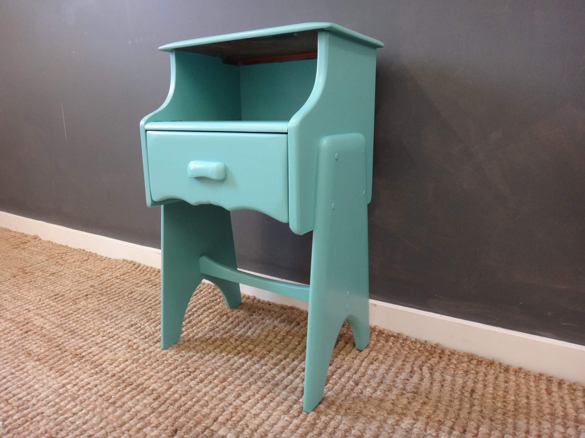 Vintage Painted End Table
