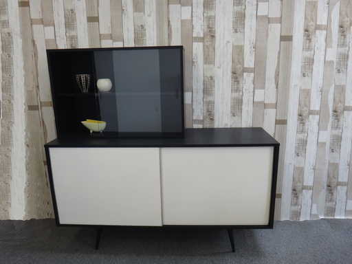 Paul McCobb Planner Group Case Pieces including credenza and shelf unit