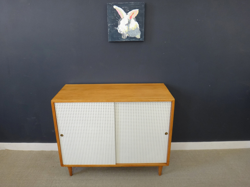 Paul McCobb Style Cabinet with sliding doors