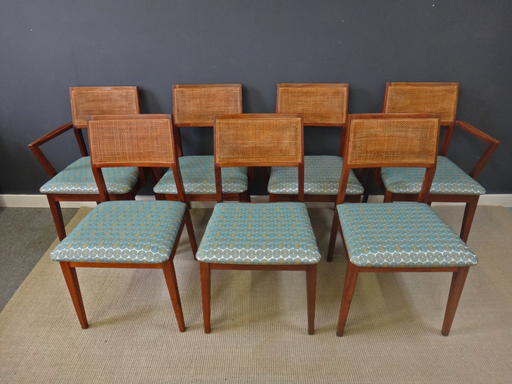 Set of Hibriten Teak Dining Chairs