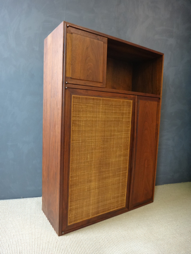 Mid Century Founders Walnut Wall Unit