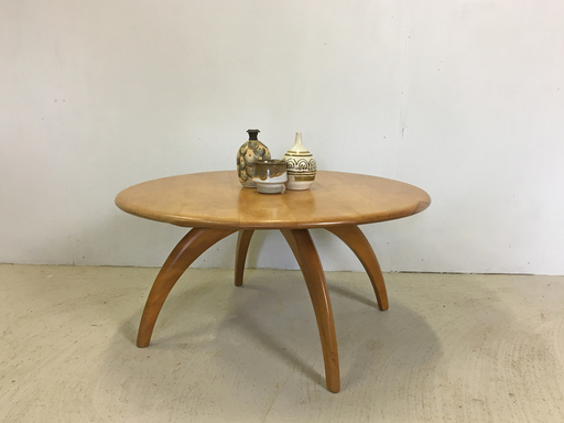 Heywood Wakefield Lazy Susan Round Coffee Table Boston