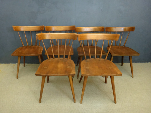 Set of Classic Paul McCobb Dining Chairs