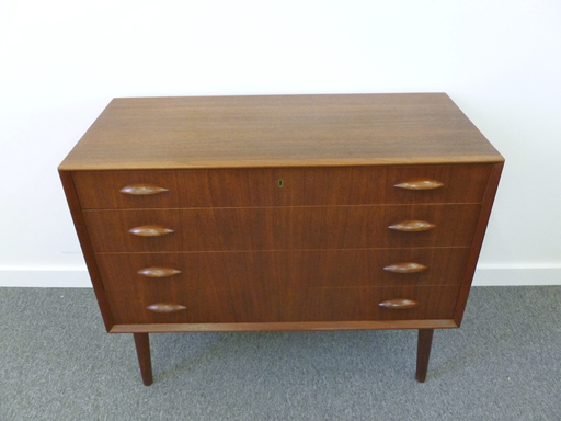 Danish modern teak bureau retrocraft design collection storage - Bureau design vintage ...