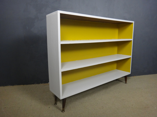 Mid Century Painted Shelf Unit
