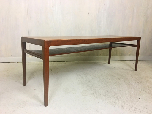 Danish Modern Teak Coffee Table by Ludvig Pontopiddian