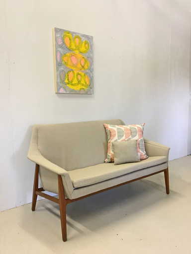 Swedish Upholstered Settee