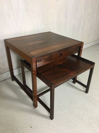 Sykkylven Norway Rosewood Nesting Tables
