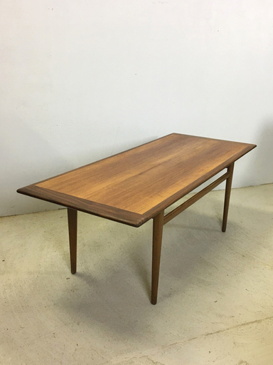 Norwegian Mid Century Teak Coffee Table