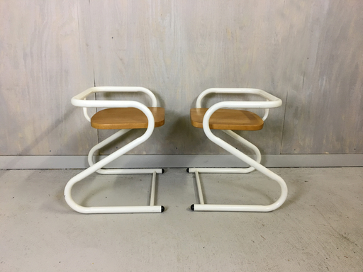 Amsco Tubular Steel chairs
