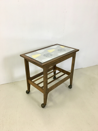 Refurbished Rolling Bar Cart