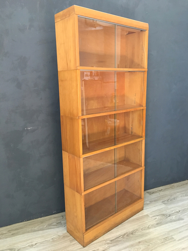 Mid Century Modern Barrister Bookcase Retrocraft Design