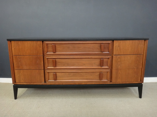 Mid century dixie bureau retrocraft design collection storage - Bureau design vintage ...