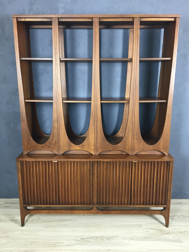 Broyhill Brasilia Walnut Room Divider Boston