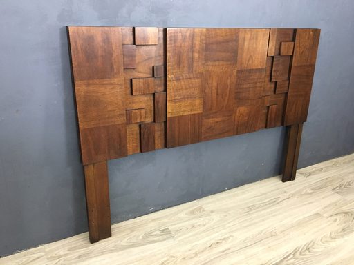 Lane Brutalist Mosaic Queen Headboard