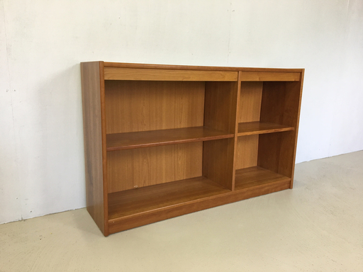 Danish Modern Cherry Bookcase