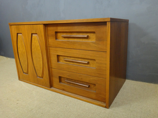 Mid Century Multi Draw Chest