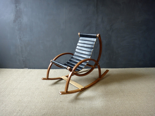 Mid Century Bentwood Child039s Rocker