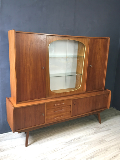 German Atomic Teak BarCabinet