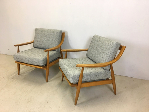 Pair of Conant Ball Lounge Chairs by Russell Wright