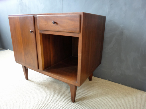 Mid Century Conant Ball Petit Chest nightstand night table bedside table