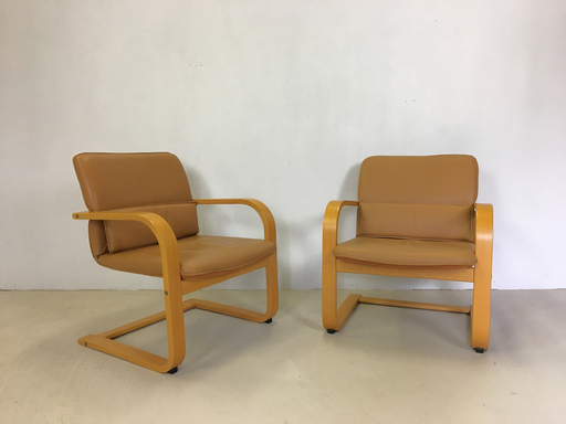 Pair of Bentwood Conran Chairs
