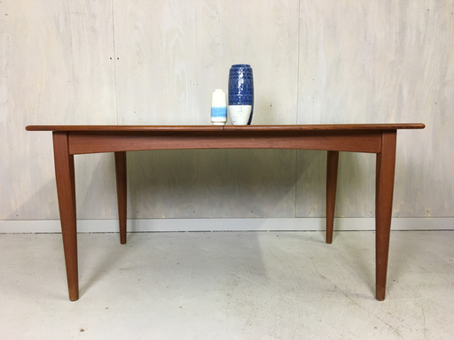 Danish Modern Falster Teak Dining Table