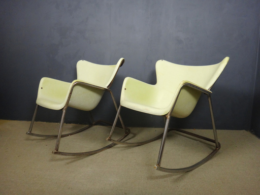 Luther Conover Fiberglass Rocking Chairs