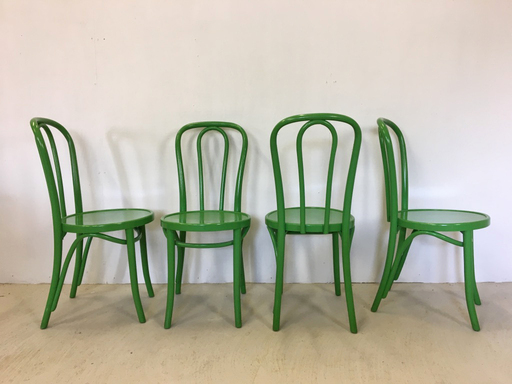 Thonet Style of Bentwood Cafe Chairs