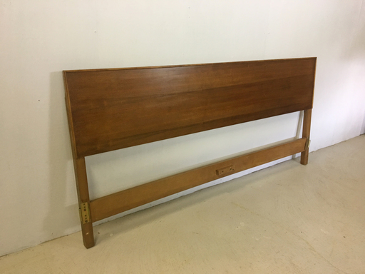 Kingsize Walnut Headboard