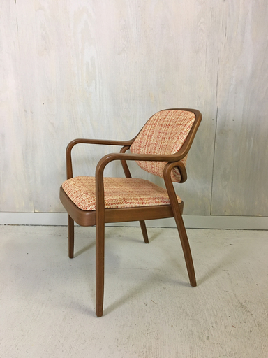 Mid Century Upholstered Knoll Accent Chair