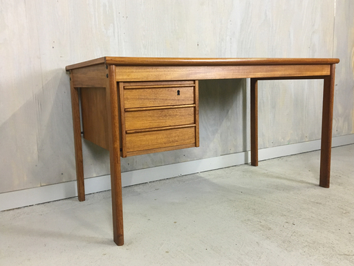 Danish Modern Teak Desk by Peter Lovig Nielsen Boston