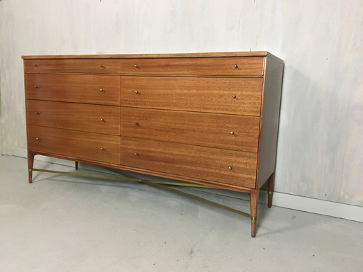 Calvin Group Lowboy Bureau Dresser by Paul McCobb for the Irwin Collection