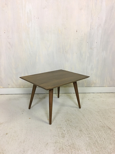Paul McCobb Maple Side Table In Tobacco