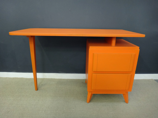 Painted Mid Century Desk