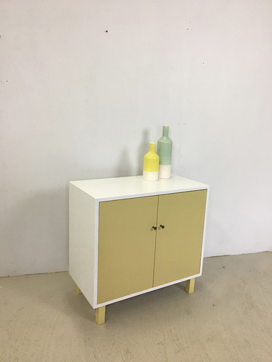 Mid Century Painted Cabinet