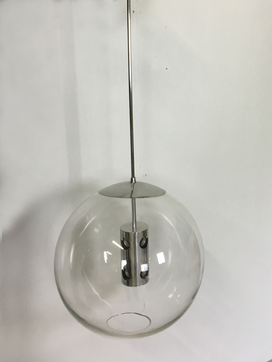 Extra Large Glass Globe Pendant Light