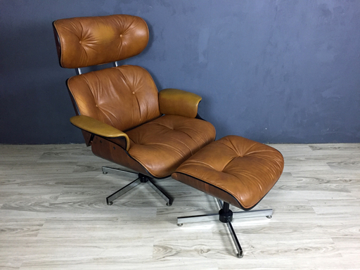 Mid Century Eames Style Plycraft Lounge Chair with Ottoman nbspBoston