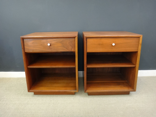 Pair of Declaration by Drexel Bedside Tables