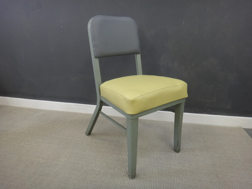 Vintage Reupholstered Steelcase Chair