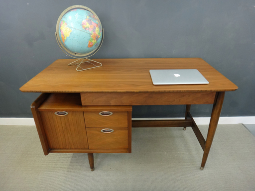 Mid Century Hooker Floating Desk