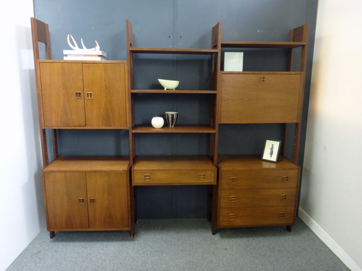 Danish Modern Wall Unit