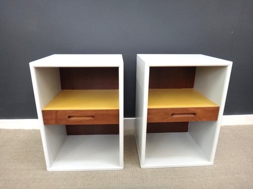 Re-envisoned Mid Century Bedside Tables