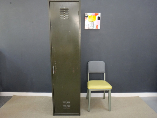 Green Metal Locker